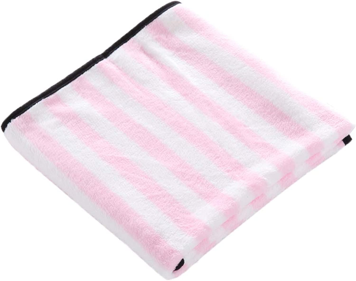 Premium Fluffy Fleece Dog Blanket Soft And Warm Pet Throw for Dogs Cats Blanket Fabric Washable Cozy Portable Durable,Pink,M