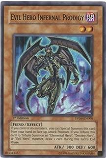 Yu-Gi-Oh! - Evil Hero Infernal Prodigy (DP06-EN008) - Duelist Pack 6 Jaden Yuki 3 - Unlimited Edition - Super Rare