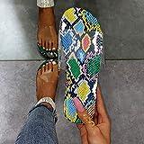 LYYJF Verano Baño Antideslizante Sandalias,Sandalias y Pantuflas de Plataforma de tacón Alto de Verano, Chanclas Casuales de tacón de cuña,Color,43