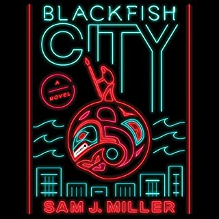 Blackfish City audiobook cover art