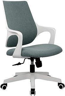 WSDSX Ergonomic Chair,Silla de Oficina Silla para Juegos de Escritorio de Cuero, Silla de Carreras ergonómicamente Ajustable, Silla giratoria para computadora ejecutiva de tareas