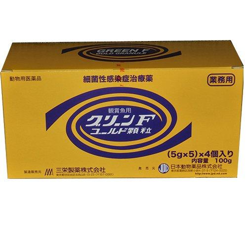 グリーンFゴールド顆粒 業務用 25g (5g×5) 4袋入 1箱 動物用医薬品