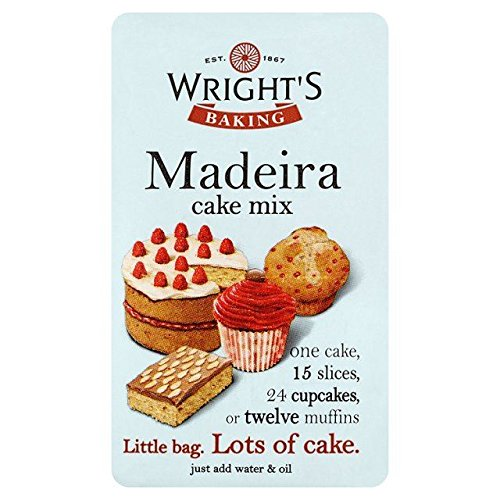 Wright's Madeira Cake Mix 500g Max 76% OFF - 1.1lbs 5 popular