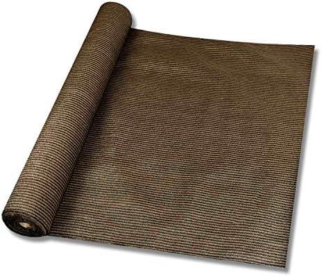 Windscreen4less Brown Sunblock Shade Cloth 95 UV Block Shade Fabric Roll 8ft x 25ft product image