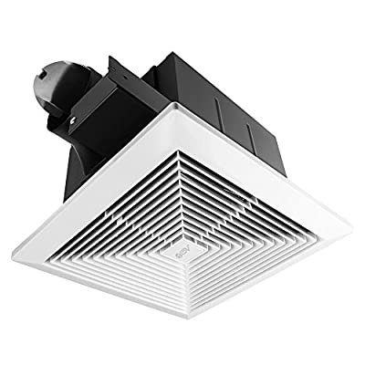 BV Ultra-Quiet 90 CFM, 0.8 Sone Bathroom Ventilation & Exhaust Fan from BV