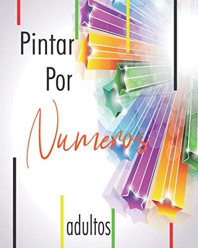 Pintar Por Numeros Adultos: Libro grande para Colorear - Color por números adultos : flores, animales, paisajesa, pájaros, delfines, magnífica ... relajación y antiestrés - formato largo -