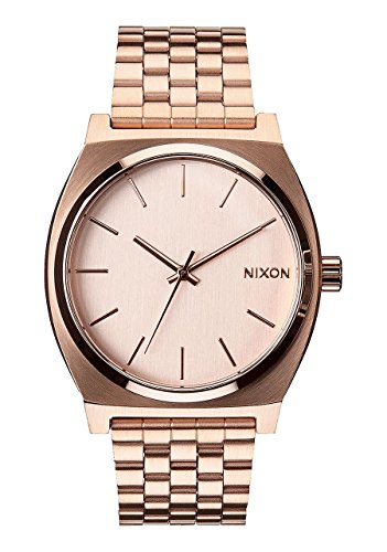 Nuevo Nixon tiempo Teller Reloj todos Oro Rosa