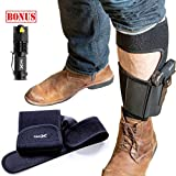 Best Ankle Holsters - TacX Pro Gear Gun Ankle Holster for Concealed Review