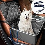 Protector de Asiento de Coche para Mascota Funda de Coche para Perros de Transporte 3 en 1 con Cadena Ajustable Impermeable Resistente al Desgaste Protección para Mascotas de Coche para Viajar