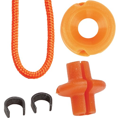Pine Ridge Archery Hunter's Combo Pack, Orange, 3/16-Inch