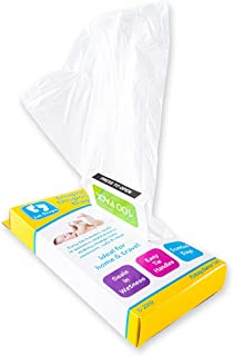 1st Care 500PCE Disposable Nappy Bags Scented Easy Tie Travel Handy No Mess