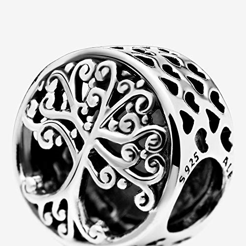 Pandora 797590 Sterling Silver Family Roots Charm