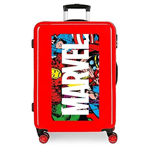 Marvel Action Marvel Medium Suitcase Maleta Mediana Rojo