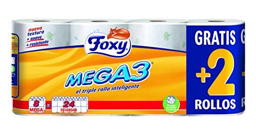 Foxy wc-papier gedecoreerd – 8 stuks