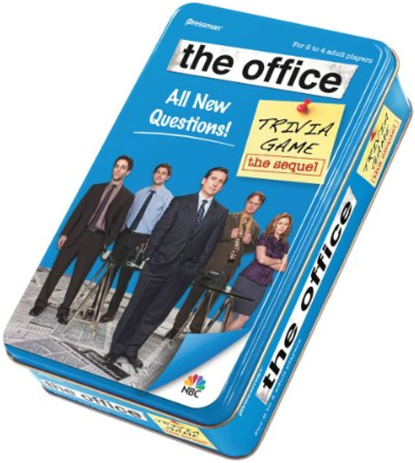 Pressman The Office Trivia Game in Tin  The Sequel