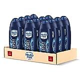 Neutromed Sport Docciashampoo Uomo Energizzante, Docciashampoo per Corpo e Capelli, Confezione da 12 pezzi x 250 ml
