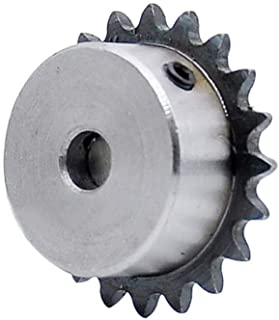 Bored to Size Sprockets: 1 1//2 Bore 133677 Black Oxide Finish 4.7 Outer Diameter 60 Chain Size Hardened Teeth 18 Teeth