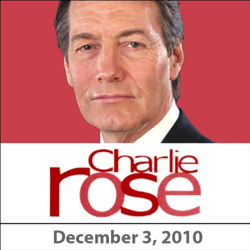 Charlie Rose: Nora Ephron and Paul Keating, December 3, 2010 audiobook cover art