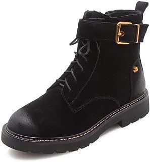 BalaMasa Womens Travel Nubuck Warm Lining Urethane Boots ABM13570