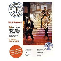 Téléphone : voyage en guitare (+ 1 CD)