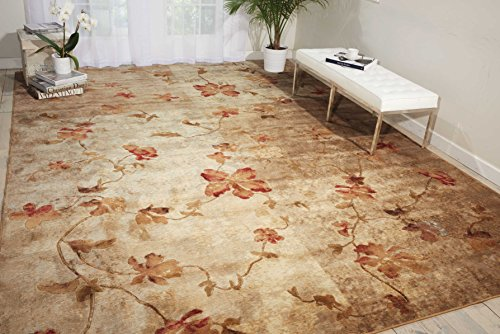 Nourison Somerset Multicolor Rectangle Area Rug, 5-Feet 3-Inches by 7-Feet 5-Inches (5'3' x 7'5')