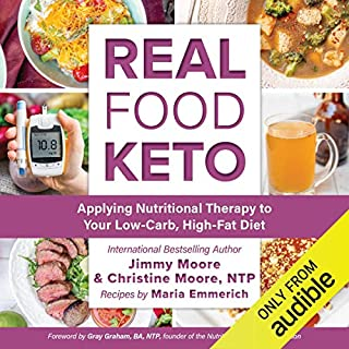 Real Food Keto audiobook cover art