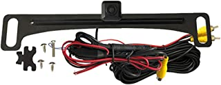 Voxx ACAM4 HD Wide Angle License Plate Mounted Backup Camera - Parking Lane Display Option - High Light Sensitivity for Ni... photo