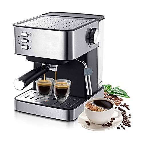 Cafeteras Individuales 1,6L Máquina de café espresso eléctrica Máquina de café 15 Bar Express...