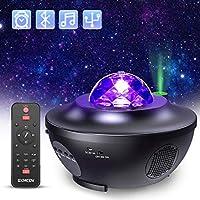 Proyector Estrellas Galaxia, Proyector Lámpara de Mesa Infantil Oceano con 21 Modos & Control Remoto & Temporizador & Altavoz & Bluetooth, Luz bebé nocturna, Luces Decorativas Habitacion para Fiesta