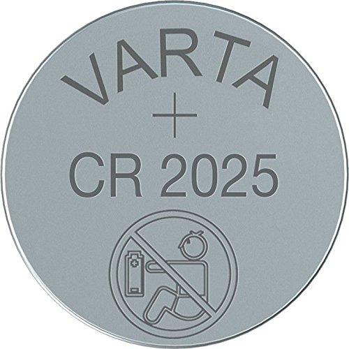Varta Batterie Knopfzelle CR 2025 (10 Stück)