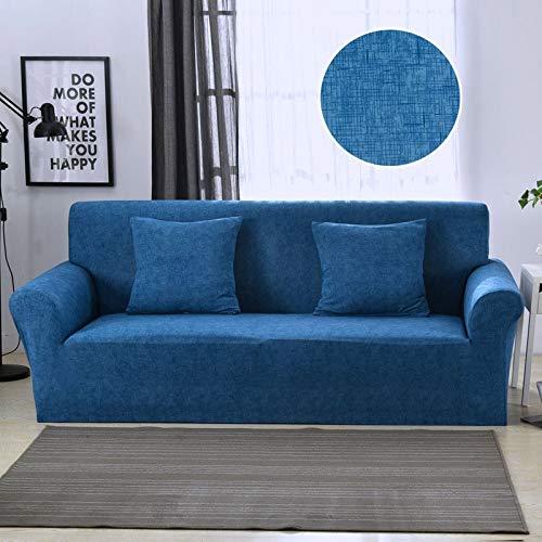 WXQY Fundas elásticas para sofá, Funda de sofá Moderna para Sala de Estar, Esquina seccional, en Forma de L, Protector de Silla, Funda para sofá A8, 4 plazas