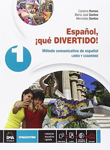 Español, ¡que divertido! Libro del alumno y cuaderno. Per la Scuola media. Con e-book. Con espansione online: Espanol, ¡qué divertido! Vol. 1 [Lingua spagnola]
