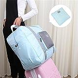 Generic rosa: caliente venta. Candy Color ropa bolsa de almacenamiento juego de viaje de maquillaje plegable impermeable maleta grande cámara movimiento de equipaje