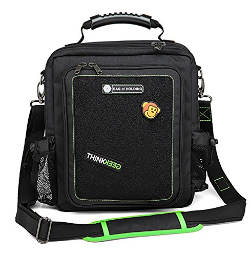 ThinkGeek Bag of Holding - Con-Survival Edition Crossbody or Handheld Bag - Small Enough for a Crowded Hall; Big Enough for All Your StuffBag of Holding - Con-Survival Edition