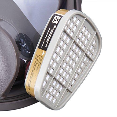 Yonntech Máscara de Gas Respirador Reutilizable 6800 Filtro ...