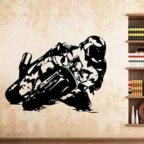 Geiqianjiumai Motorfiets Transport Vinyl muursticker keuken muursticker kinderkamer