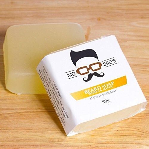Mo Bro's - Vanilla & Mango Premium Beard Soap Conditioner Wash 80g