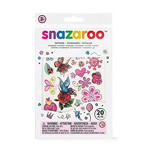 Snazaroo Schmink sjablonenset, herbruikbare acryl sjablonen Fantasie - meisje Fantasie multicolor