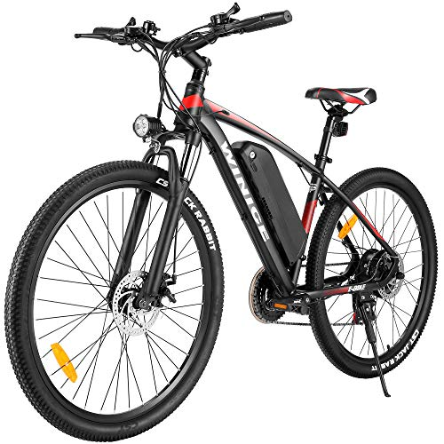 """VIVI Bicicleta Electrica 27.5"""" Bicicleta Electrica Montaña 350W Bici Electrica Adulto E-Bike con Batería 36V 10.4Ah (27.5 Azul)"""
