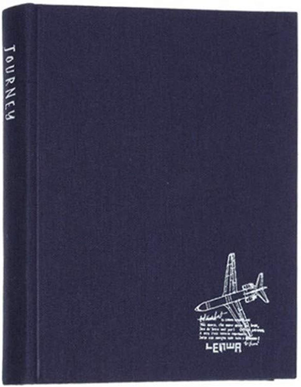 Notizbuch, Schreibwaren einfach Student Business Notizbuch Kopie der harten Oberfläche dickes Tuch Buch Tagebuch Zeitplan dieses Buch blau   150  173mm B07PJSLLXK | Outlet Online