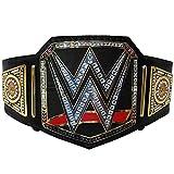 WWE World Heavy Weight Championship Cinturón adulto réplica cuero genuino cinturones negro