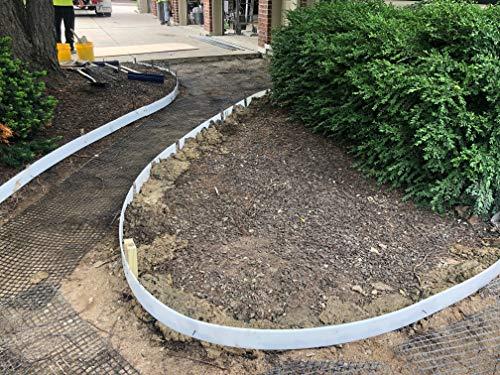 Plastic Flex Forms for Concrete Flatwork & Curbs Set (10 5