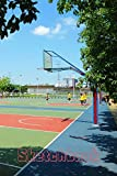Basketball Court Sketchbook: Slam Dunk Sketchpad: 6 x 9 in, 120 pages with border. Drawing Pad for basket ball sport lovers (kids, boys, children)