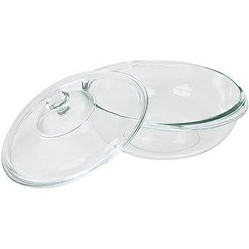 Amazon Com Pyrex 2 Quart Glass Bakeware Dish Baking Dishes Kitchen Dining