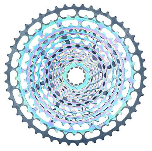 JGbike SROAD Lightweight 12 spee d Single Piece Cassette XD 10-50T for MTB Downhill Freeride Hardtail Bike, for SRAM GX Replacement