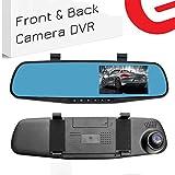 Ezonetronics - Grabadora de vídeo para coche Full HD 1080P