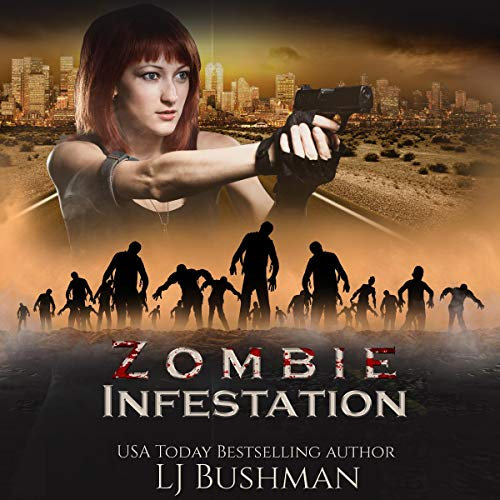 Zombie Infestation audiobook cover art