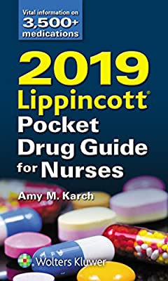 2019 Lippincott Pocket Drug Guide for Nurses by Wolters Kluwer Health