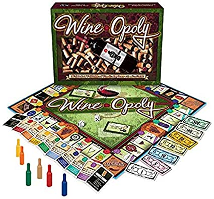 Wine-Opoly Monopoly Board Game