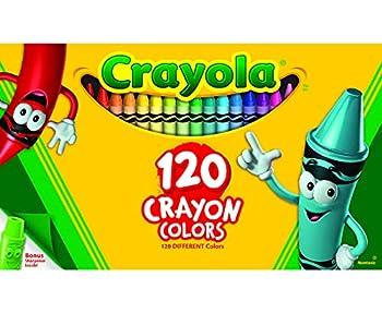 Crayola Classic Color Crayons Tuck Box 120 Colors  526920